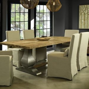 Gracie Oaks | Sunikka Reclaimed Teak Dining Table