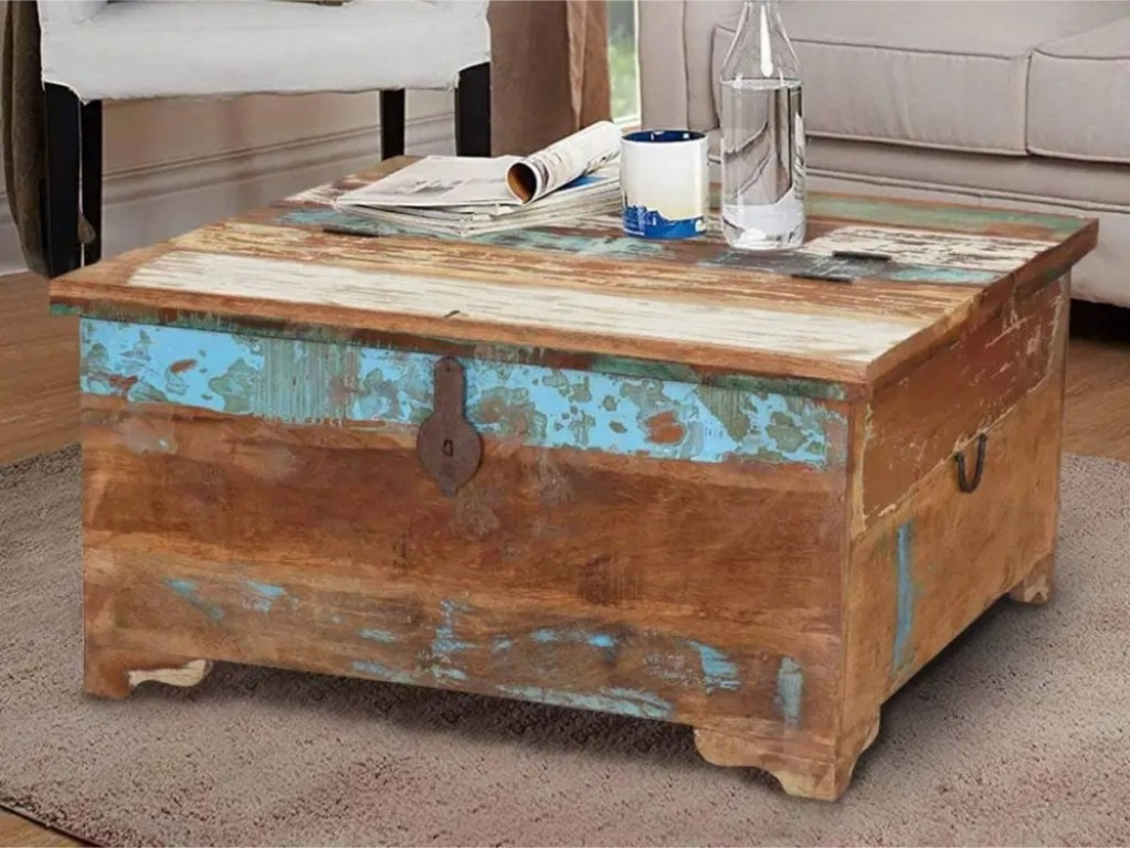 Rustic Coffee Tables – a Delightful Touch of Farmhouse Decor