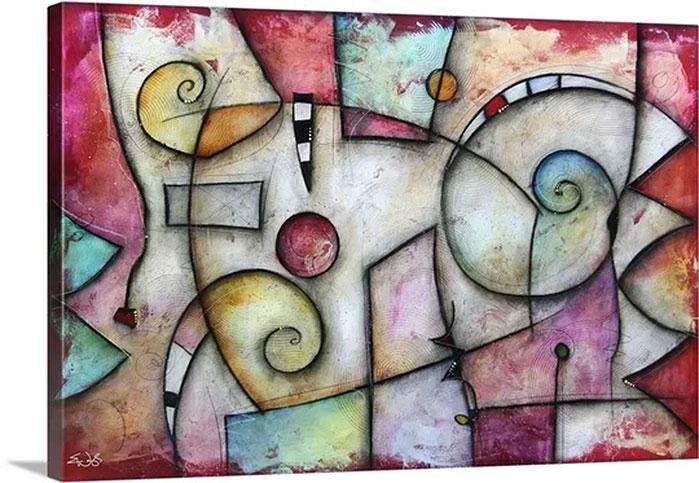 Eric Waugh Art | Jive Canvas Wall Art