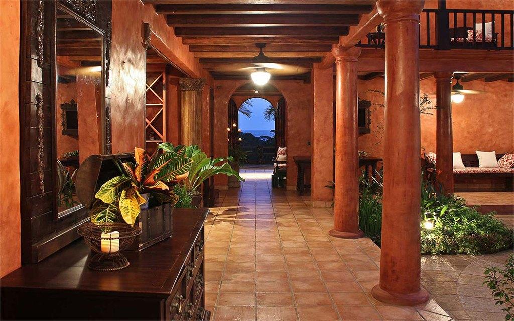 Mel Gibson's $30 Million Costa Rica Jungle Compound: Main Hallway