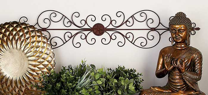 Decorating with Wrought Iron Wall Decor