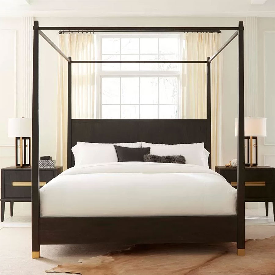 Modern Canopy Beds| Brownstone Furniture Palmer Bed