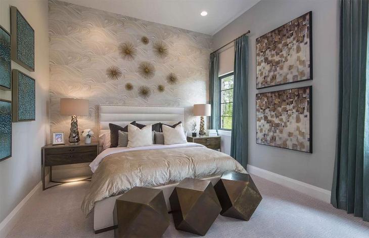 Modern Geometry Bedroom