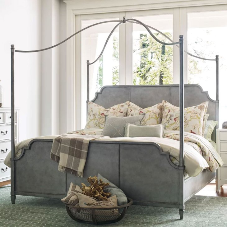Modern Canopy Beds| Upstate Metal Queen Bed