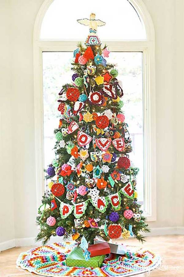 Beautiful Christmas Trees Crochet Christmas Tree