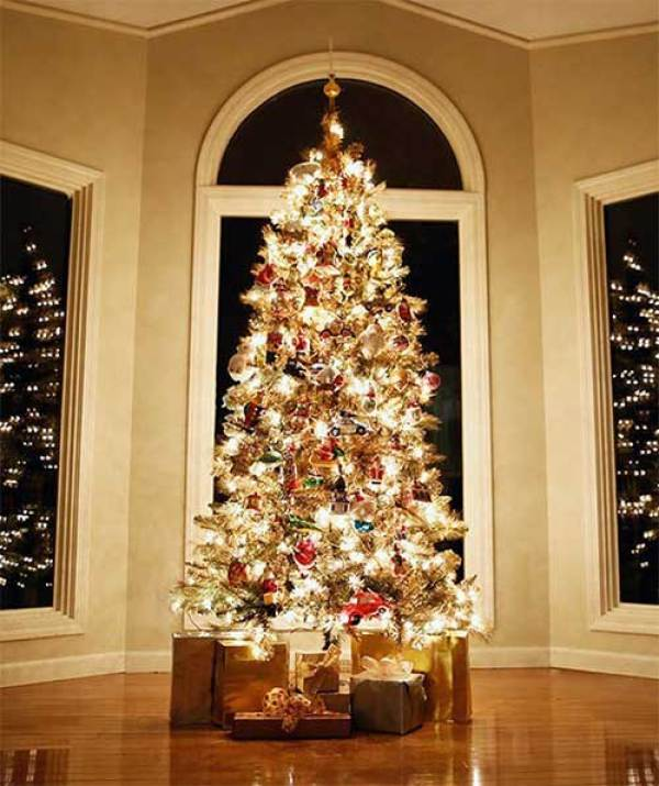 Beautiful Christmas Trees Golden Tree