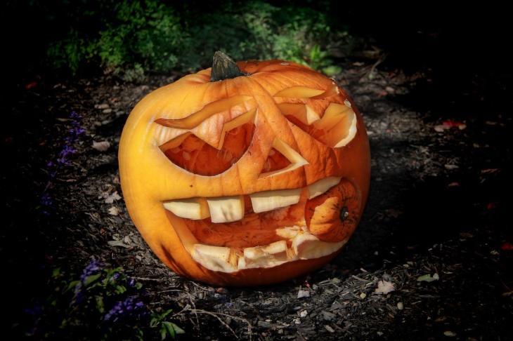 Halloween Pumpkin Carving Ideas | Cannibal Pumpkin III
