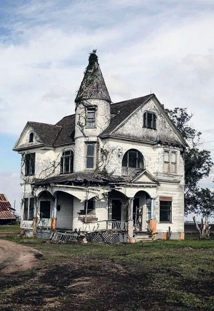 Crumbling Abandoned Home