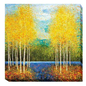 Inlet Grove   Melissa Graves Brown   Gallery-Wrapped Canvas Art