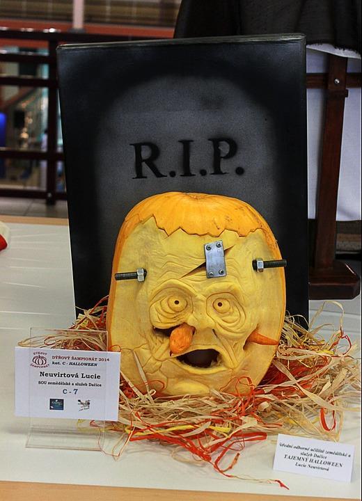 Pumpkin Carving Ideas   Frankenstein Pumpkin