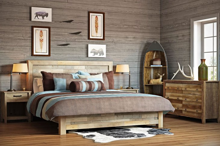 Rustic Adult Bedroom