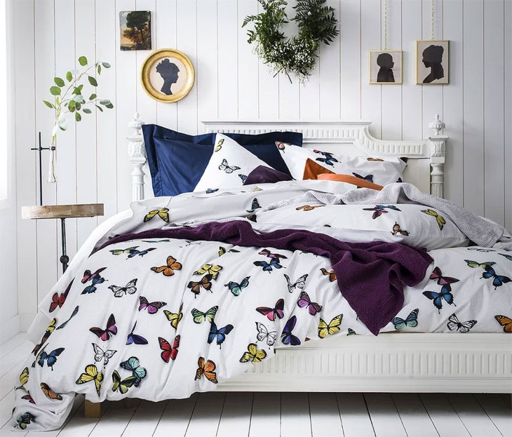 Rustic Butterfly Bedroom