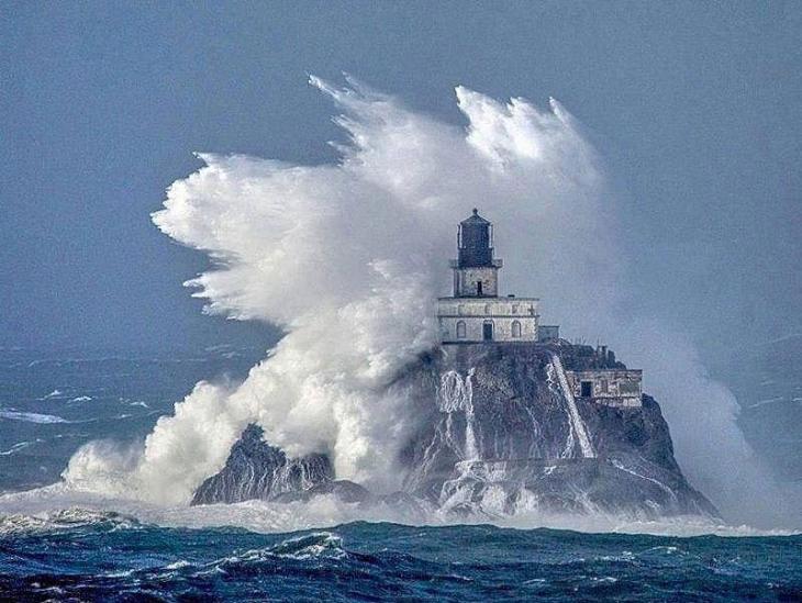 Abandoned Tillamook Rock Lighthouse