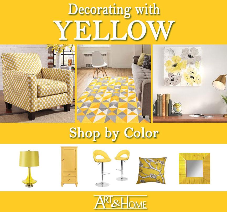 Yellow Furniture & Home Decor