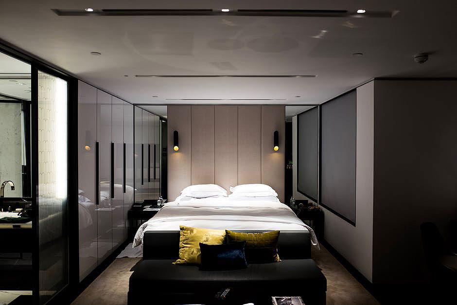 Modern Paneled Bedroom Design