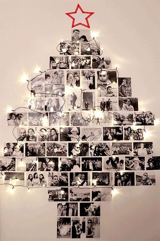 Photo Collage Christmas Tree