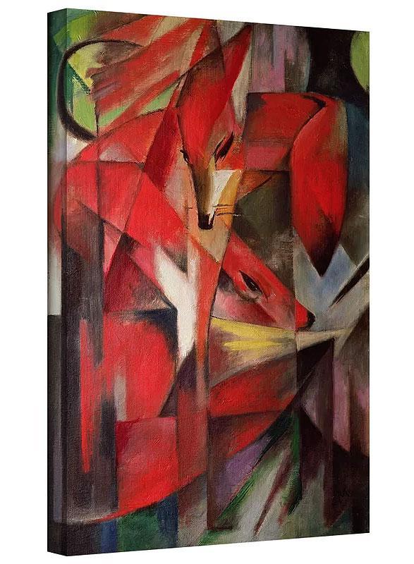 The Fox by Franz Marc Art Print on Canvas