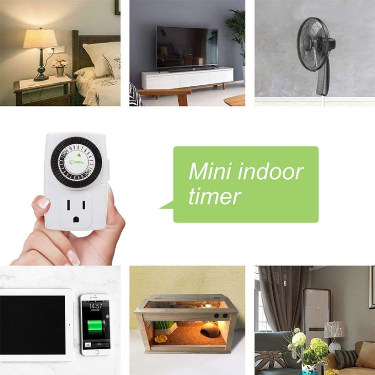 Save Electricity using Indoor Timers