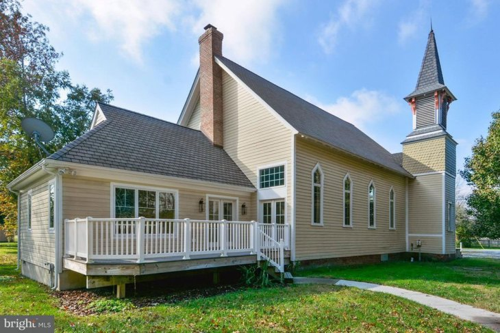 Victorian Era Converted Church House in Maryland