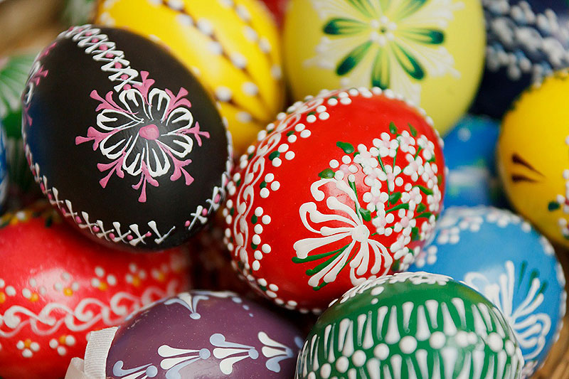 Traditional Painted Easter Eggs