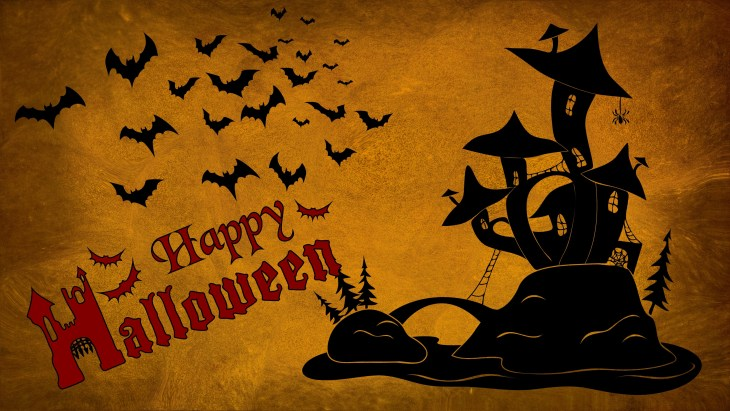 Bat House Halloween Printable