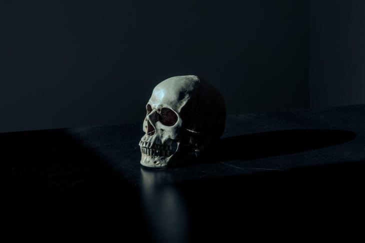 Creepy Skull | Free Printable Halloween Art