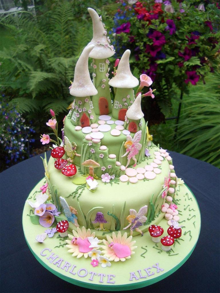 Fairytale Fairy House Cake