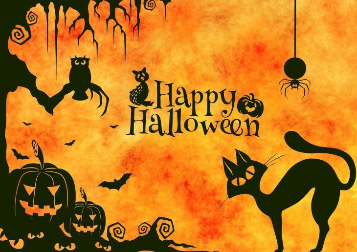 Happy Halloween Critters Free Printable