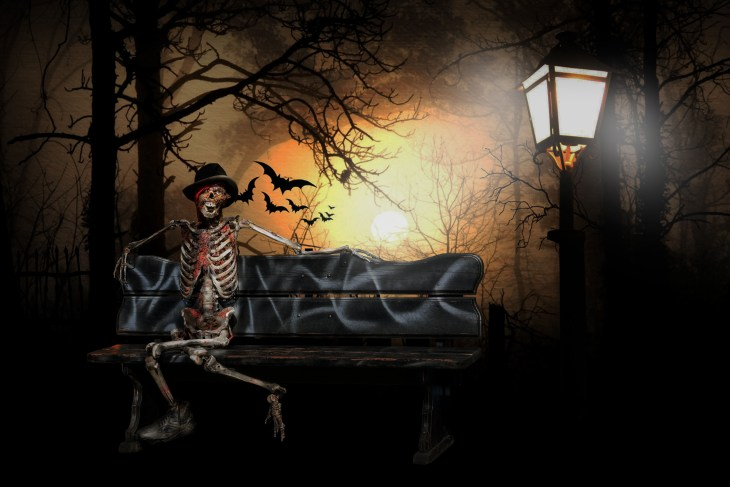 Haunted Park | Halloween Images You Can Print