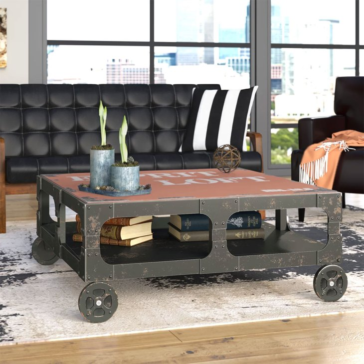 Industrial Themed Pieces Make for Very Masculine Furniture