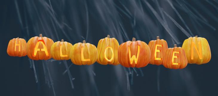 Pumpkins Spelling Halloween Printable Sign