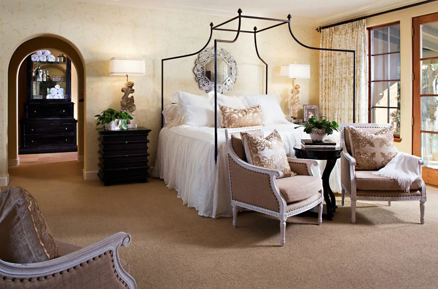 TL Studio's French Country Bedroom Design