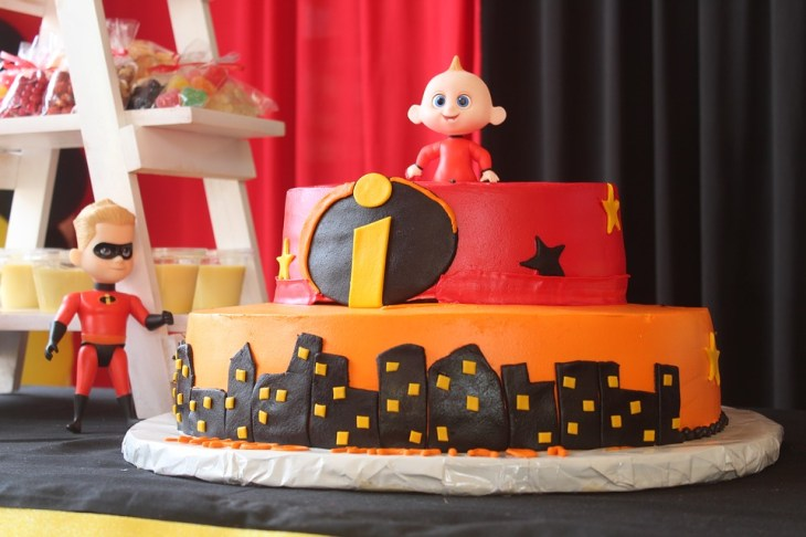 The Incredibles Kids Birthday Cake