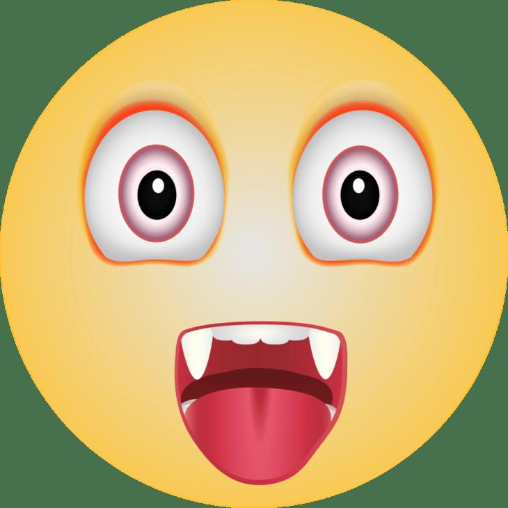 Vampire Halloween Emoji