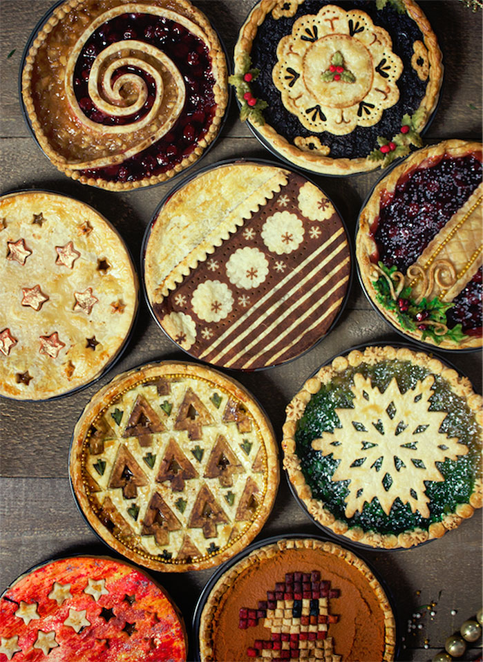 12 Days of Christmas Pies