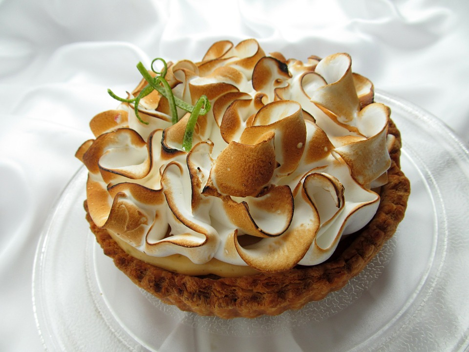 Citron Unveiled Lime Meringue Tart