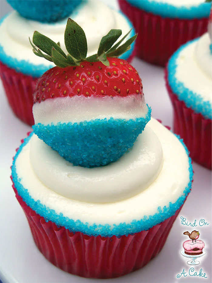 Cyclone Popsicle Cupcakes