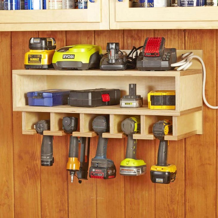 DIY Cordless Tool Caddy