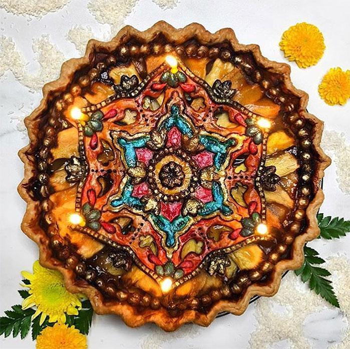 Diwali Festival of Lights Pie