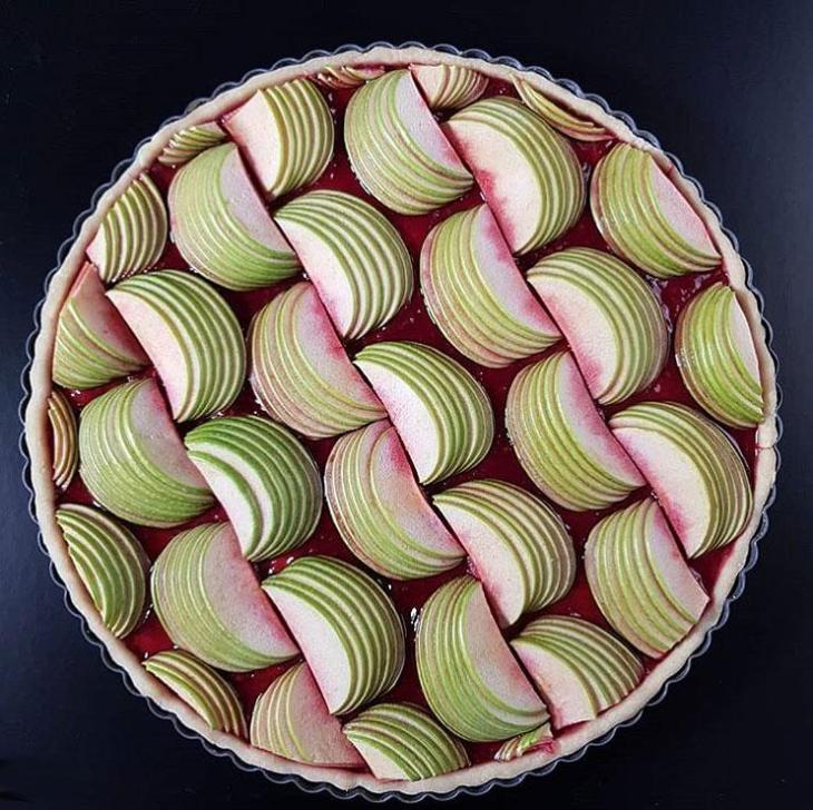 Granny Smith Open Apple Pie