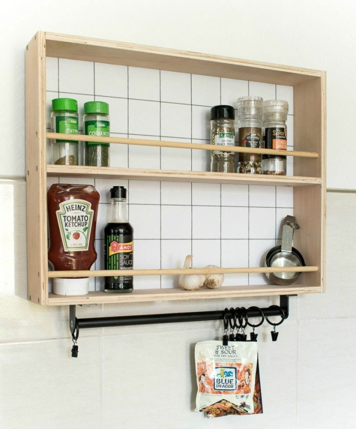 Hanging Spice Rack