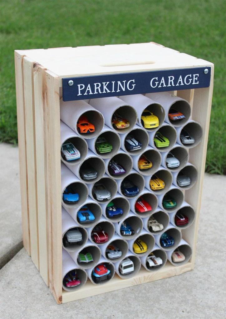 Hot Wheels DIY Parking Garage