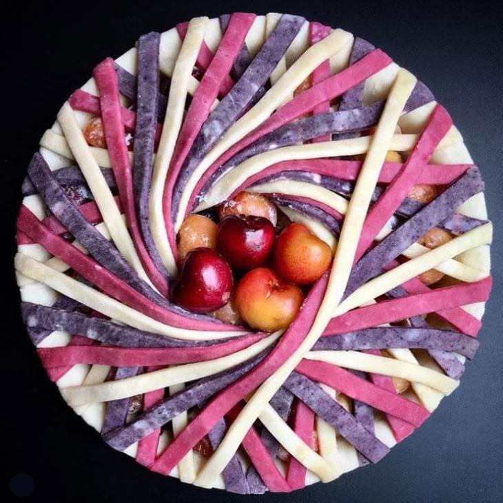 A beautifully designed Lauren Ko pie