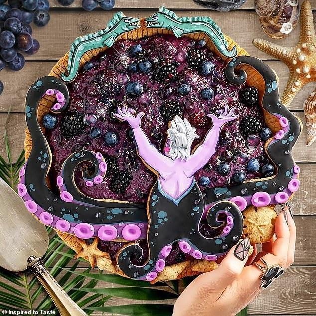 Liz Joy Ursula the Sea Witch Pie