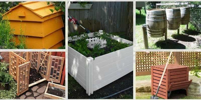 Not-Ugly Outdoor Composters