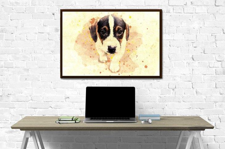 Pet Photo Canvas Art Print