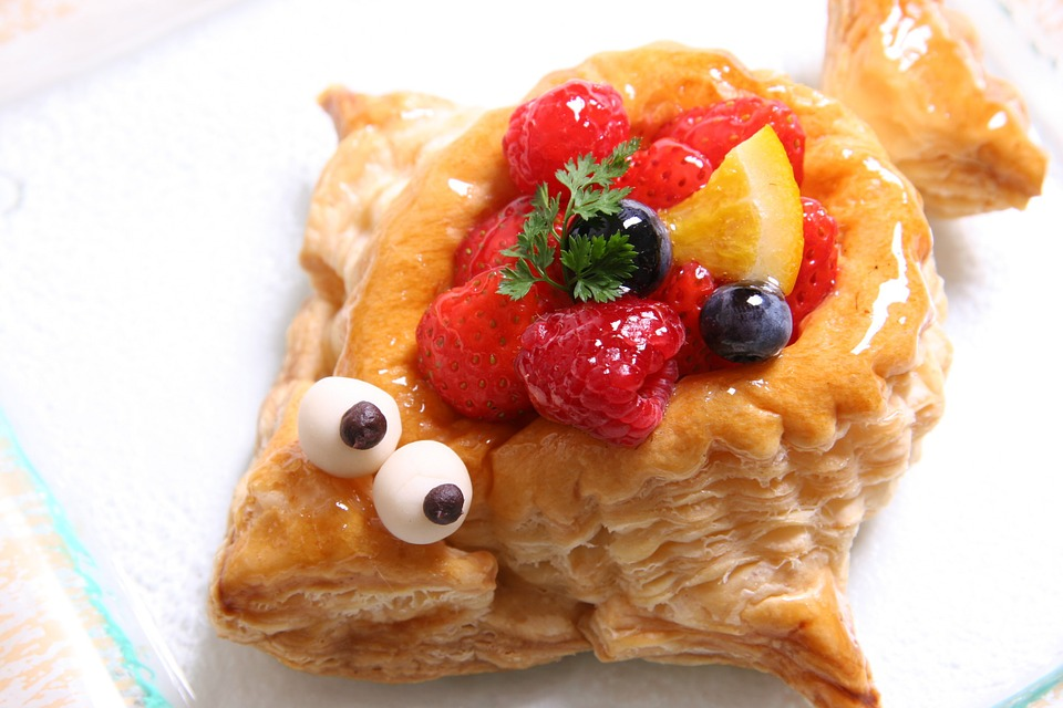 Puffer Fish Fruit Pie