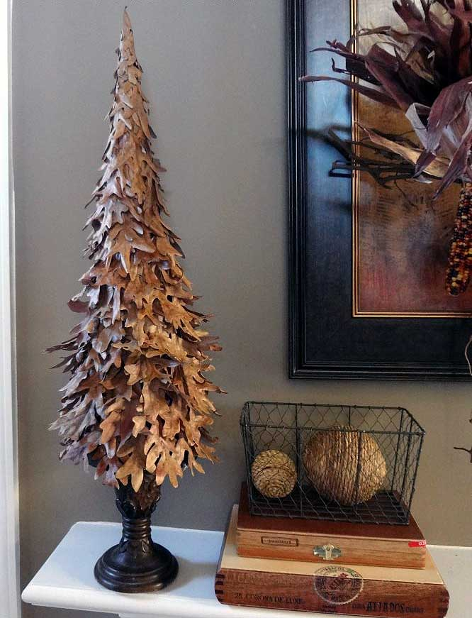 DIY Fallen Leaf Tree