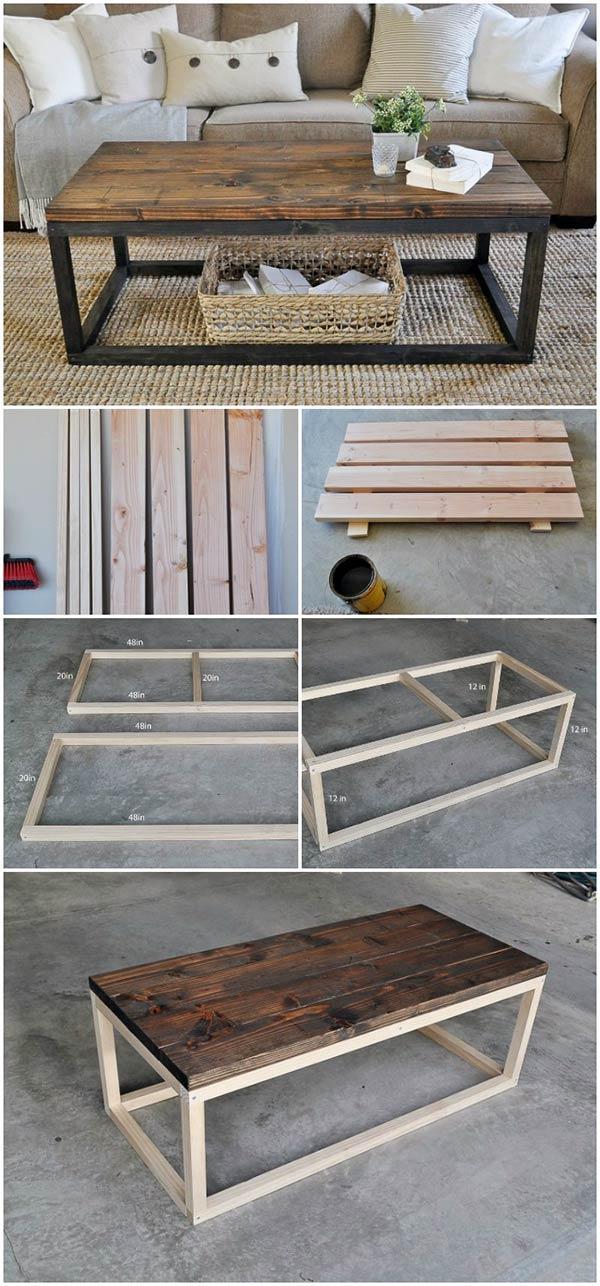 DIY Industrial Coffee Table