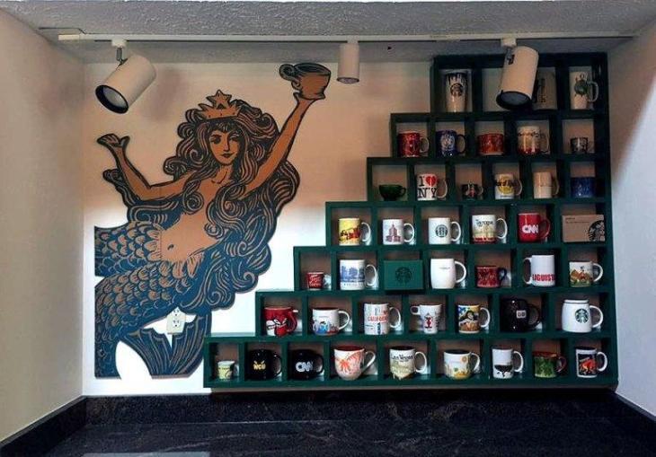 DIY Starbucks Coffee Cup Storage Cubes